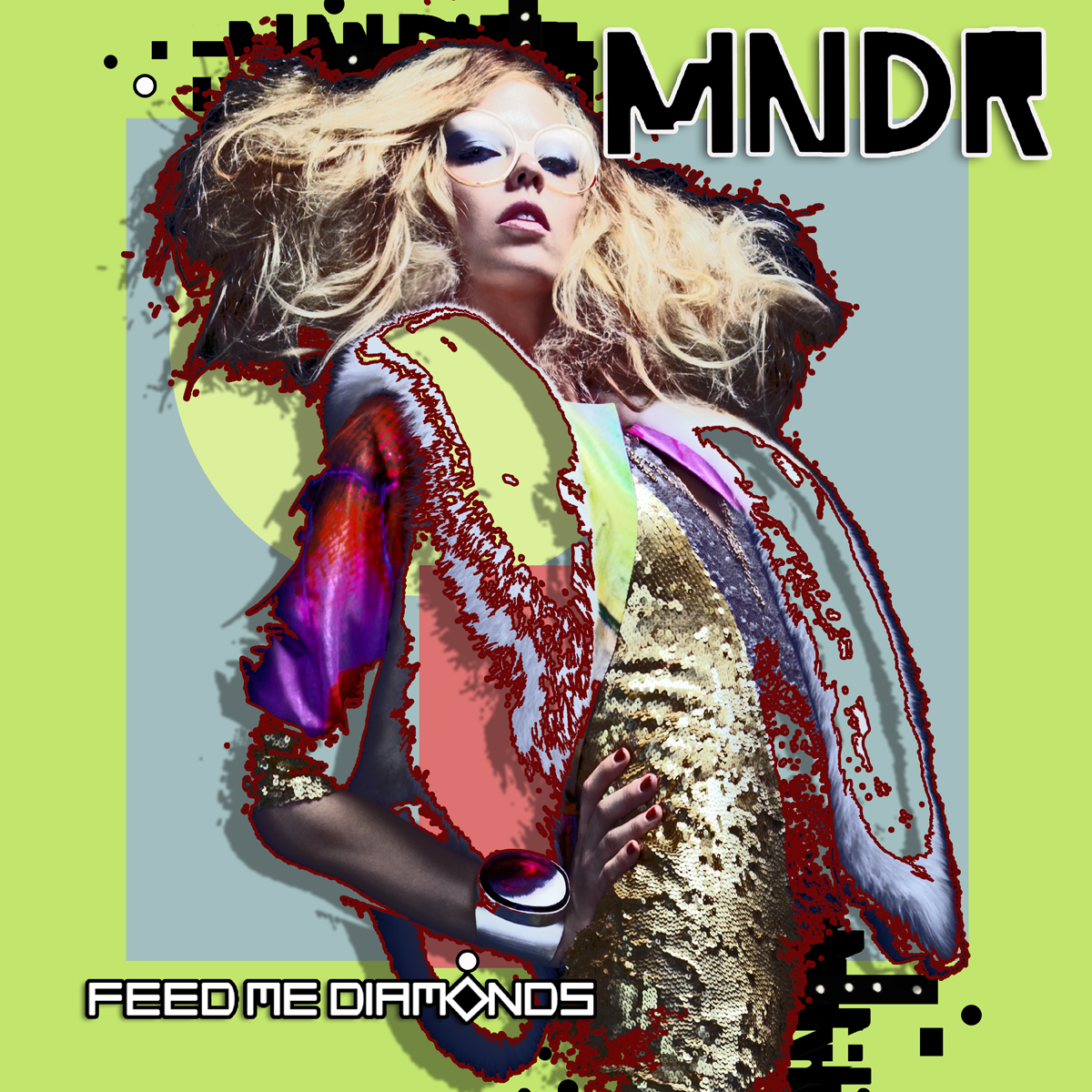MNDR Feed Me Diamonds Album Cover