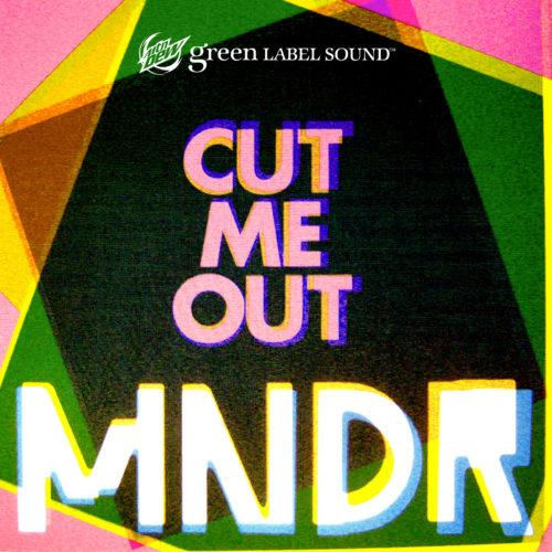 MNDR Cut Me Out Cover Art