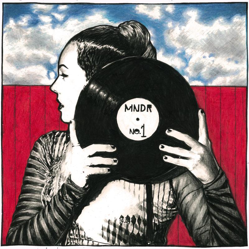 MNDR #1 In Heaven Cover Art