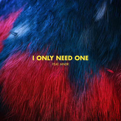 "Cover artwork for Bearson ""I Only Need One (feat. MNDR)"""