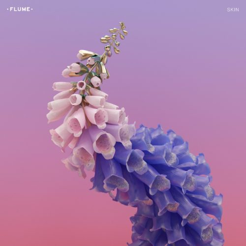 Flume Skin Like Water feat MNDR Cover ARt