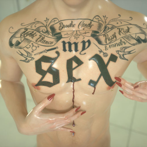 Brooke-Candy-My-Sex-feat-Pussy-Riot-Mykki-Blanco-MNDR-Cover-Art