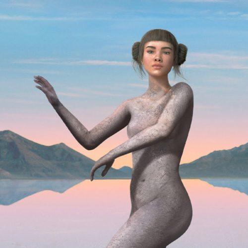 """Cover artwork for Miquela """"Hard Feelings"""""""